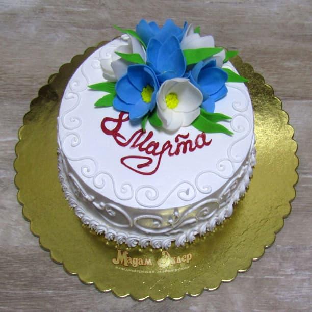 Торт маме на 8 марта
