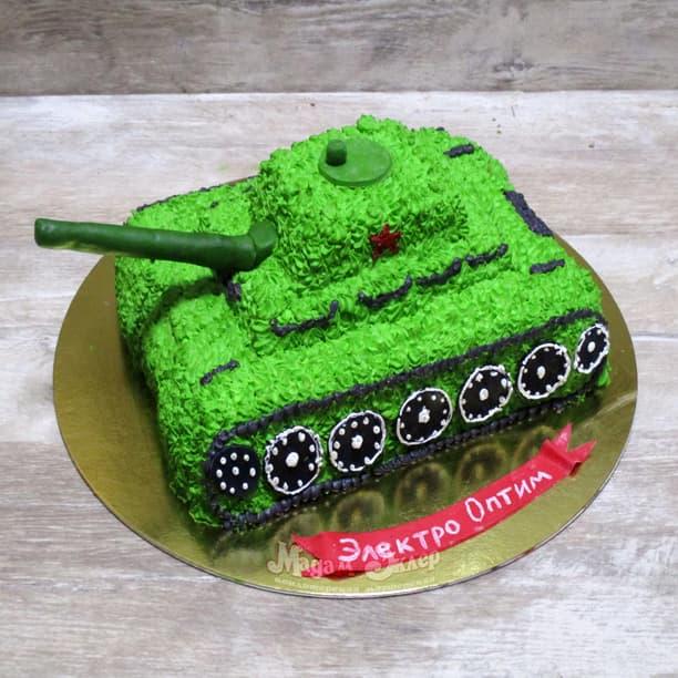 Как украсить торт на 23 февраля?