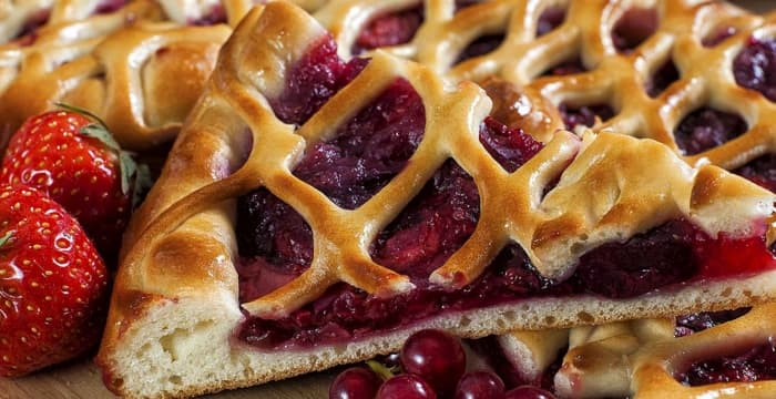 пирог с ягодами на заказ