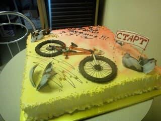 Торт на заказ на день рождения с фигурками