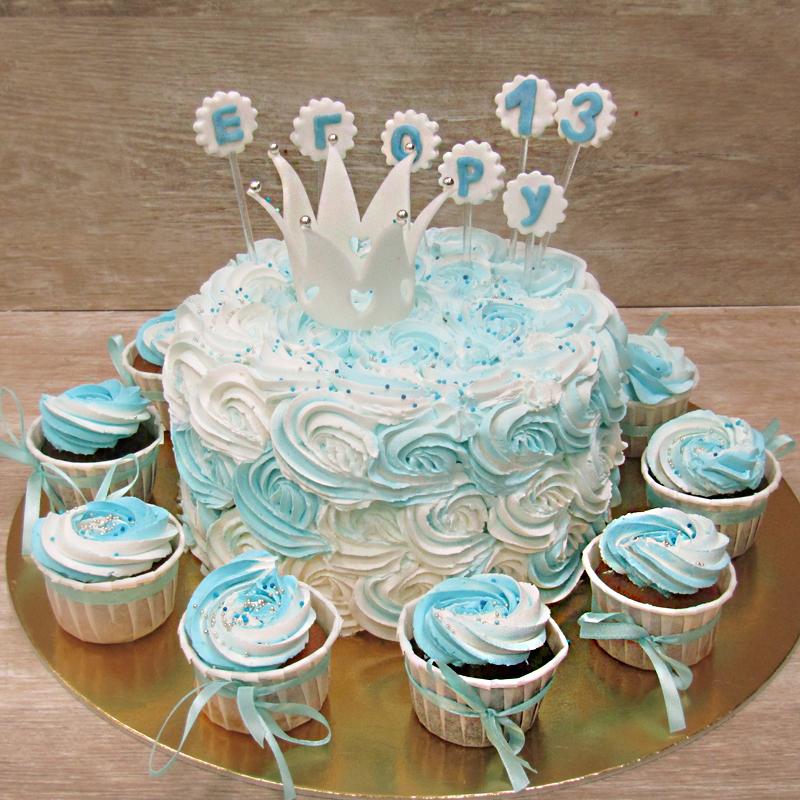 Сливочный торт для маленького принца
